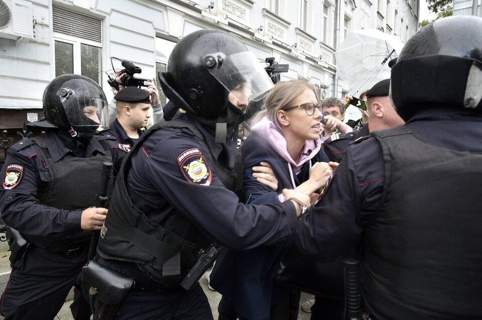 Proteste in Moskau