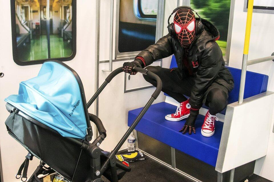Spidermans Baby